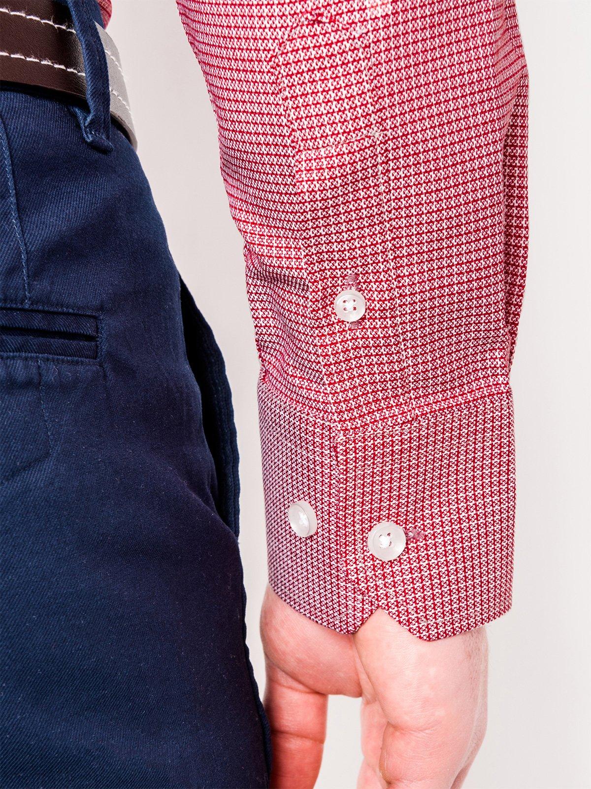 quality design f6d13 82601 HERREN HEMD ELEGANT LANGARM K442 - ROT