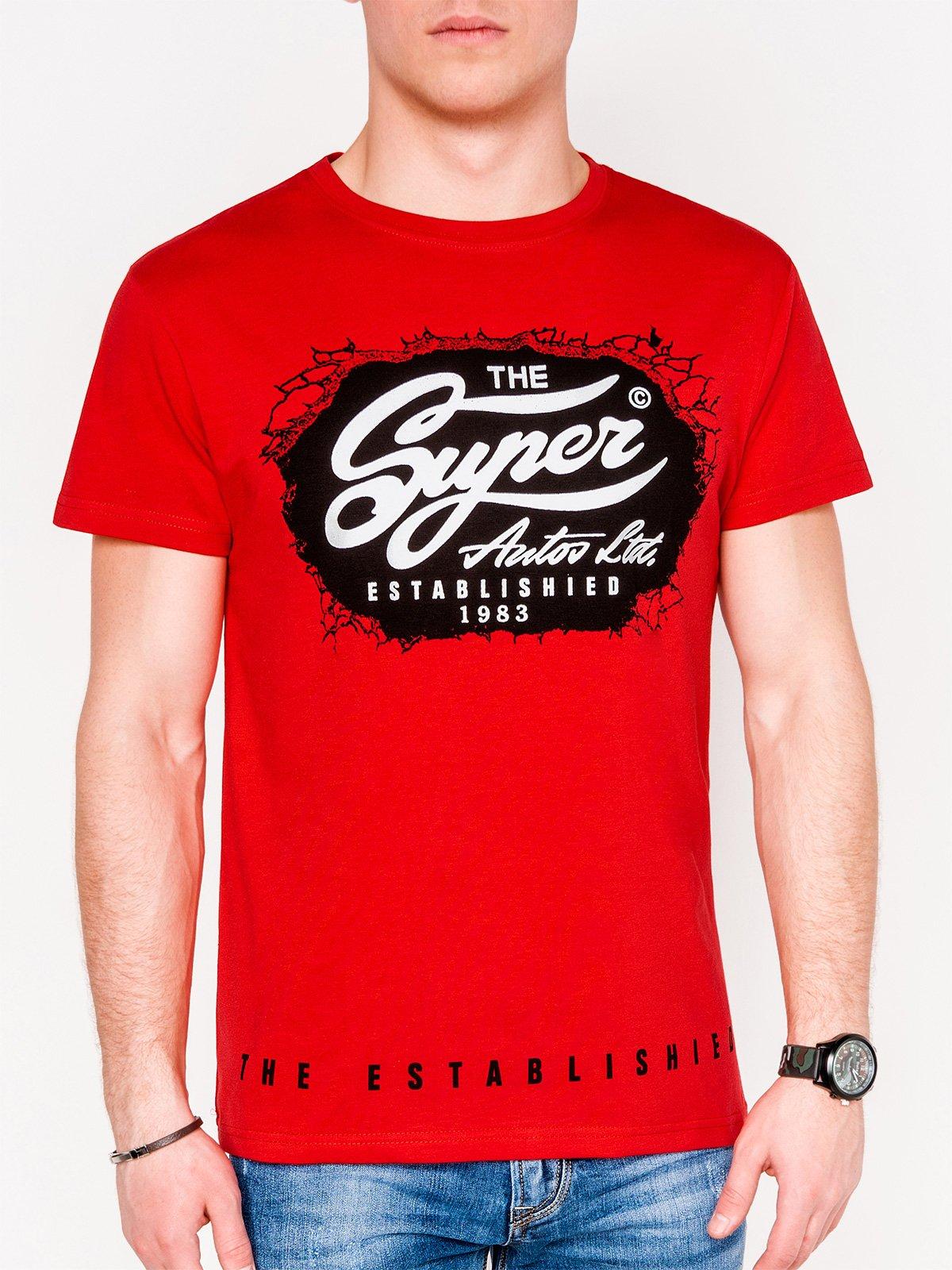 T-Shirt Mit Adlermotiv